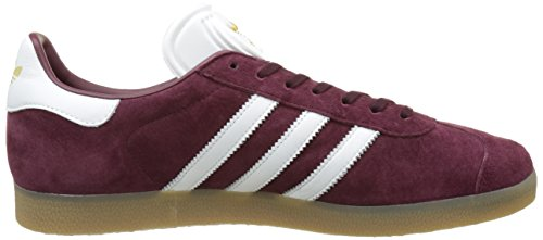 Adidas Originals Gazelle BB5506 Herren Sneaker Grau maroon/white/gold met