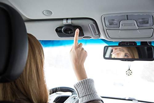VeoPulse Freisprecheinrichtung B-PRO 2B Bluetooth Freisprechanlage mit Licht und automatischem Anschluss f/ür sichere und legale Telefongespr/äche w/ährend der Fahrt
