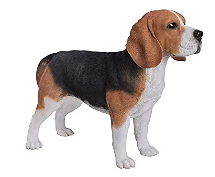 Exceptionnel Dog   Beagle Standing Statue