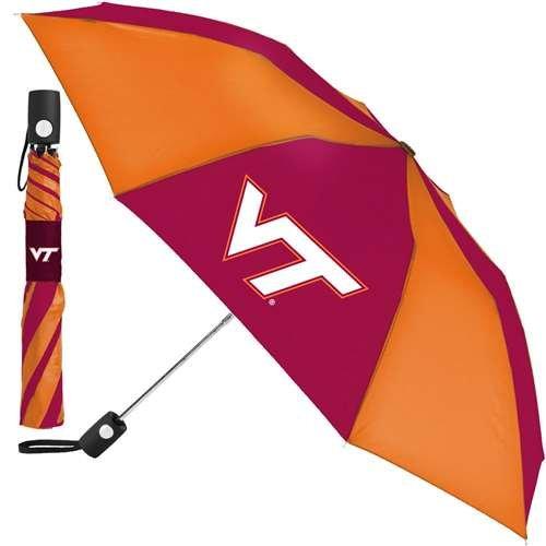 Virginia Tech Auto - WinCraft Virginia Tech Hokies Umbrella - Auto Folding
