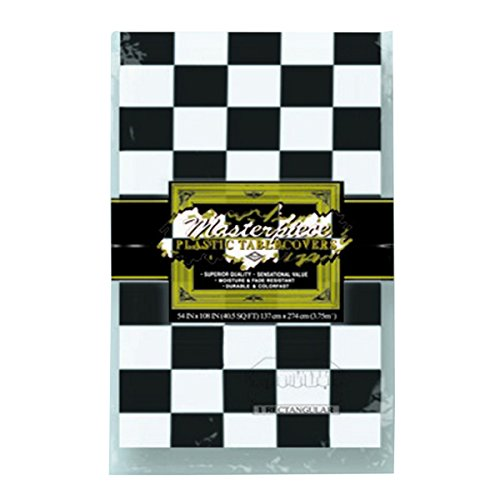 Beistle Checkered Tablecover]()