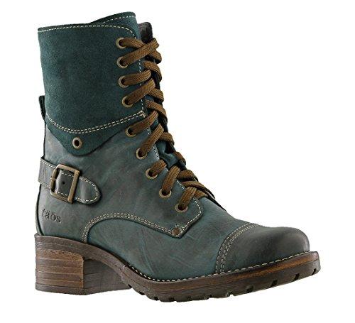 Taos Women's Crave Combat Boot, Teal, 39 EU/8-8.5 M US (Boots Footwear)