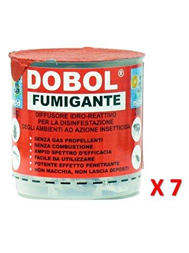 Dobol N7 X Fumigante 20g Insetticida Antitarlo Tarlo Del Legno