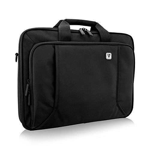 "V7 CCP17-BLK-9N 17"" Professional Front Loading Laptop Case (RFID, Weather Resitant)"