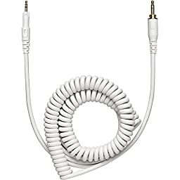 Audio-Technica ATH-M50xWH Professional Studio Monitor Headphones - White with FiiO E6 Headphone Amplifier