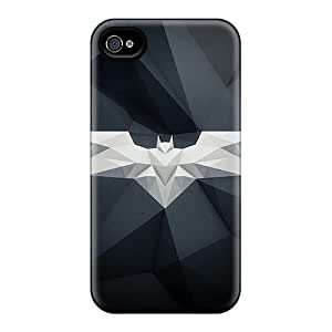 Premium Byk26035NgGf Cases With Scratch-resistant/ Awesome Batman Logo Cases Covers For Iphone 6