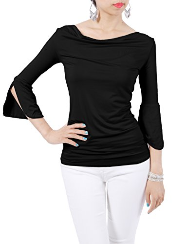 H2H Womens Sleeve Stylish T Shirt