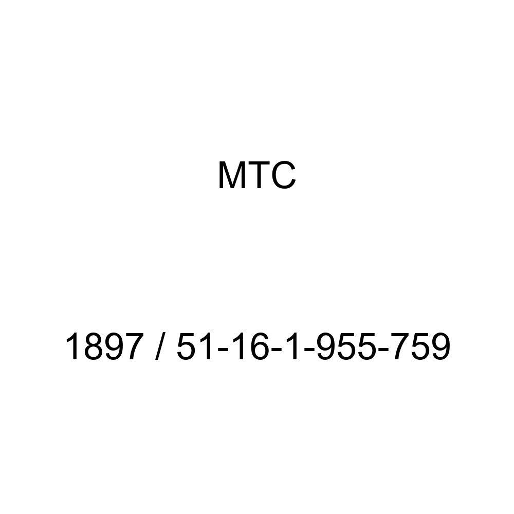 MTC 1897//51-16-1-955-759 Glove Box Latch 51-16-1-955-759 1897 for BMW Models