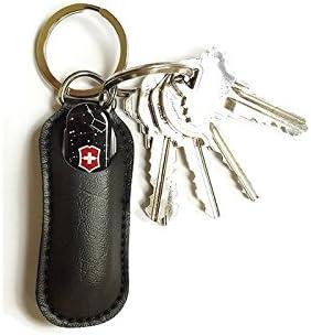 Amazon.com: Llavero con bolsa del ejército suizo: Home ...