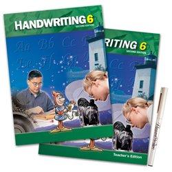 Handwriting 6 Subject Kit