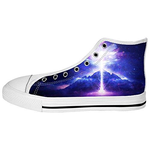 De Salida Con El Fin Paypal Línea Custom illuminazione Mens Canvas shoes I lacci delle scarpe in Alto sopra le scarpe da ginnastica di scarpe scarpe di Tela. Primera Calidad Pyx2nhP9k