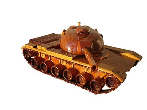 M60 Tank Mahogany Wood Desktop Model ()