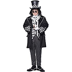 California Costumes Men's Plus-Size Dark Mad Hatter From Alice In Wonderland In Plus, Multi, Plus Size