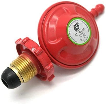 Regulador de gas propano IGT de 37 Mbar, con 5 años de garantía sin llave