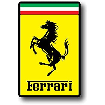Amazon Com Nostalgia Decals Ferrari Emblem Decal 5 Quot In