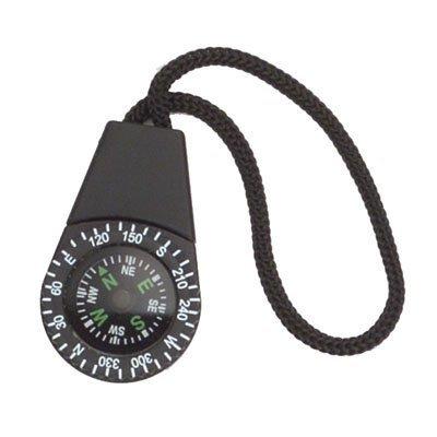 (Black Zipper Pull Compass)