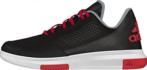 adidas Herren Sneaker Schwarz / Rot / Grau