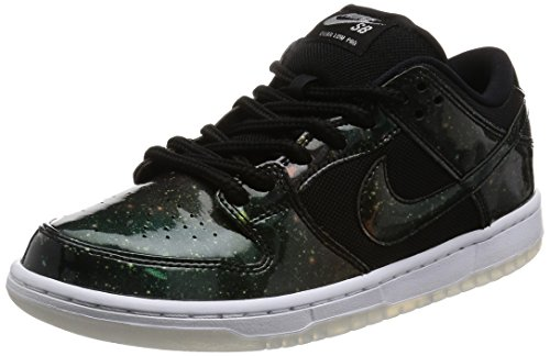 (Nike Sb Dunk Low TRD Qs 'Galaxy' - 883232-001 - Size 9.5 Black, Black-White)