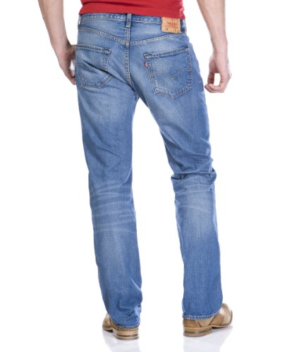 Original Down Homme ground Levi's 501 Bleu Jeans Fit F4ZxS