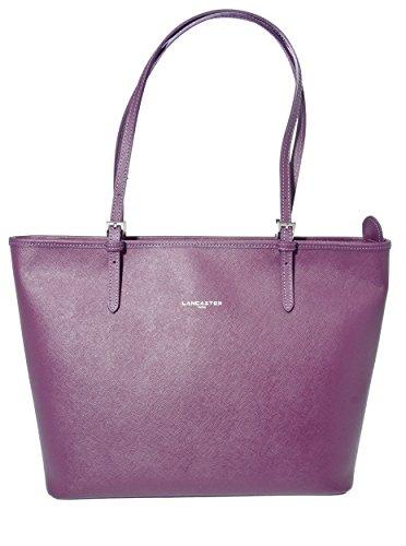 lancaster-paris-adele-tote-purple