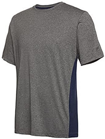 adidas Mens Short Sleeve Performance Logo T Shirt Tee Top Crew Neck Print