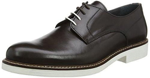 Pollini M shoe Scarpe Stringate Oxford Uomo Marrone tmoro 30a