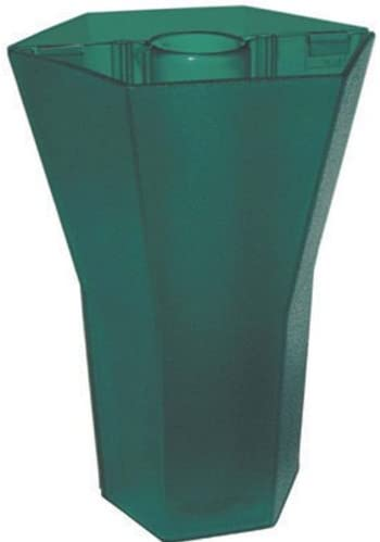 Brella Square Vase Planter Size 10 None, Color Kauai Green