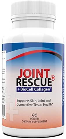 Dr. Colbert's All Natural Joint Rescue - Biocell Collagen Plus Glucosamine - Best Joint Relief Plus Patented Ingredient to Reduce Fine Lines - 30 Day Supply - by Divine Health - Plus Type II Collagen