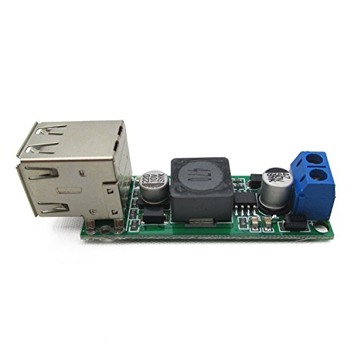 ADAM SYEX DC 6-35Vto5V3A DC dual USB pressure reducing vehicle mounted solar power module