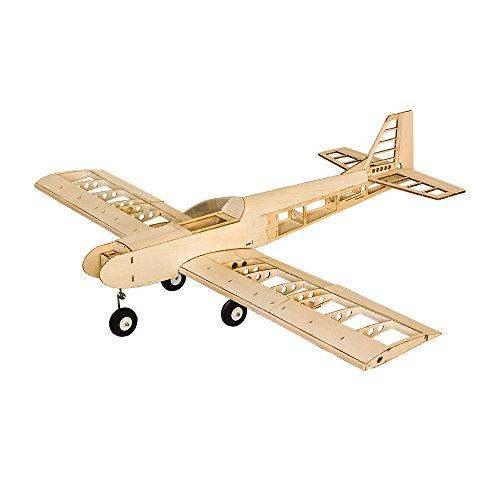 Wingspan Balsa Wood Trainer RC Airplane SENREAL DIY Aircraft Model T30 1400 - T30 Model