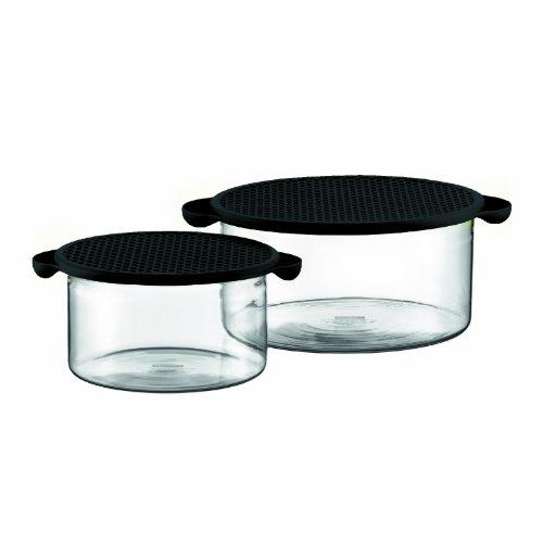 Bodum Hot Pot Borosilicate 34-Ounce and 85-Ounce Glass Bakin