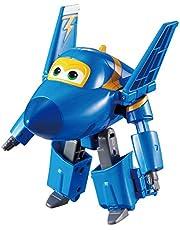 Auldeytoys YW710230 Super Wings Transforming Jerome leksaksfigur, blå