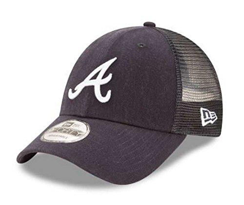 New Era MLB Atlanta Braves Trucker 9Forty Adjustable Baseball Hat 940 ()