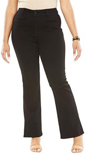 Women's Plus Size Wide Leg Jeans