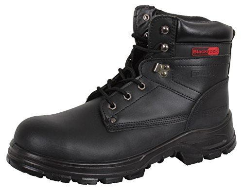 Schwarz Schwarz Black 8 SF08 UK Black EU Blackrock Unisex Erwachsene 42 Sicherheitsschuhe vIwwF8Pxq