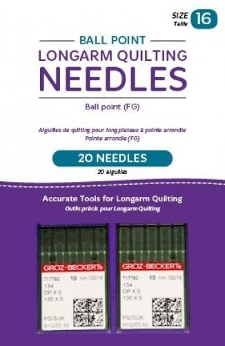 Handi Quilter Longarm Quilting Needles - Ball Point (FG) Size 16 (Pack of 20)