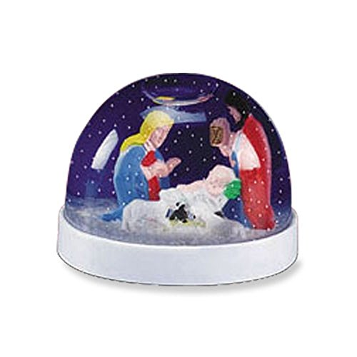 AT001 Nativity Scene Snowball, 2-3/8'' H, 12 pack. by AT001
