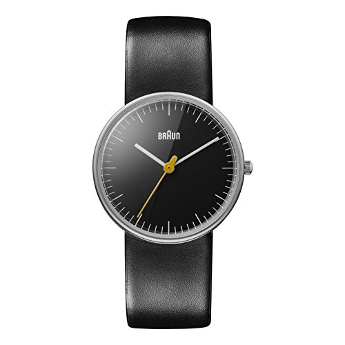 braun-womens-bn0021bkbkl-classic-stainless-steel-watch-with-leather-band