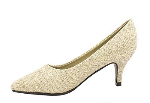 Elara - Cerrado Mujer Dorado - dorado