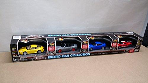 Msz Exotic Car Collection 4 Pack Porsche Bentley