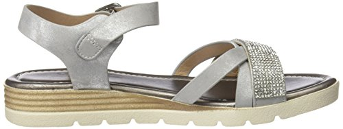 Ouvert Sandales Femme 64298 Refresh Argent Bout silver qCxAO0
