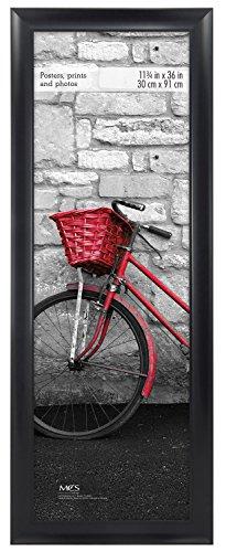 MCS 11.75x36 Inch Premium Wide Scoop Poster Frame, Black (65693)