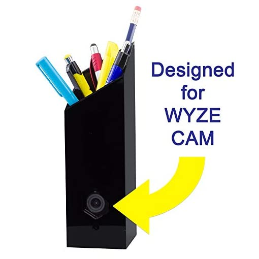 Pencil CASE for Wyze Cam! Make Your Wyze Cam More Discreet and Beautiful  with This Camera Housing That Doubles as a Pencil Holder (Fits Wyze Cam and