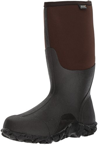 Bogs Mens Classic Cool Tech Snow Boot Marrone Scuro