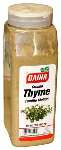 Badia Thyme Leaves Ground 12 oz by Badia