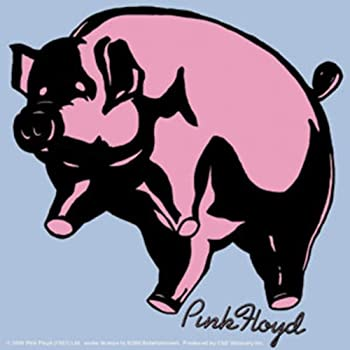 e0b15a192f55d Licenses Products Pink Floyd Pig Sticker