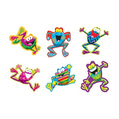 Trend Enterprises Inc Frog-tastic Classic Accents Variety Pack (Common Frog)