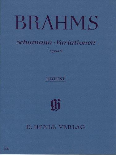 Schumann-Variations Op. 9 Softcover Henle Urtext Edition