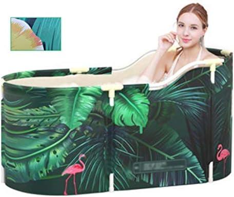 シンプルな大人の入浴バケツ/折りたたみバケツ風呂/ホーム製品の厚さを絶縁バスタブ/子供バースアーティファクト,グリーン,120*55*50cm