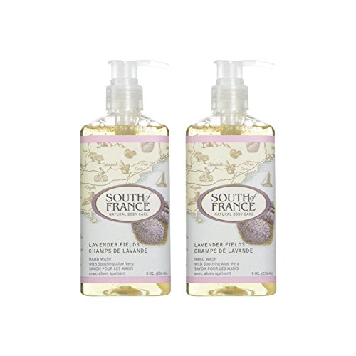 South Of France Liquid Hand Soap Lavender Fields 8 Oz (Pack of ()